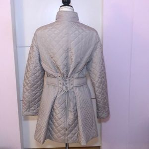Betsey Johnson Quilted Coat